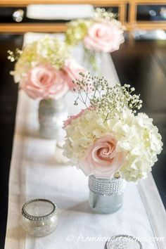 These easy floral centerpieces are GORGEOUS! So simple to make and perfect for Valentine's Day, Easter or a spring wedding. Floral arrangements diy 5 Elegant and Easy Floral Centerpieces (That Are Perfect For A Romantic Table) Pink Flower Centerpieces, Bridal Shower Centerpieces, Wedding Flower Arrangements, Floral Arrangements, Centerpiece Ideas, Simple Elegant Centerpieces, Spring Wedding Centerpieces, Birthday Centerpieces, Diy Centerpieces Cheap