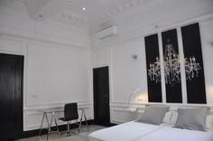 suite presidencial del Blue 8 de sevilla un placerr para los sentidos en el mismo centro de Sevilla