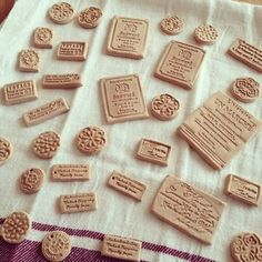 Diy Air Dry Clay, Diy Clay, Clay Crafts, Diy And Crafts, Arts And Crafts, Vintage Stamps, General Crafts, Ceramic Beads, Clay Creations