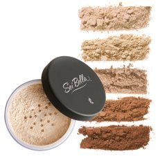 Sei Bella mineral foundation from Melaleuca-- feels like you aren't wearing any make-up. I switched from using Bare Mineral to this- like it better plus it's cheaper and a bigger container.