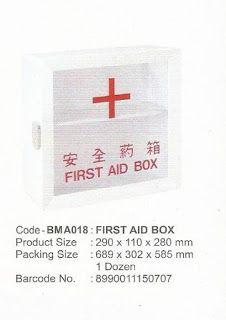 Selatan Jaya distributor barang plastik Surabaya: First Aid Box atau kotak P3k pertolongan pertama p...