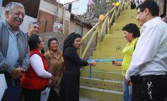 13 de julio: Pasajes-escaleras ubicados en las zonas altas del Comité 125, segundo sector, ampliación del AAHH Virgen del Rosario, Independencia,