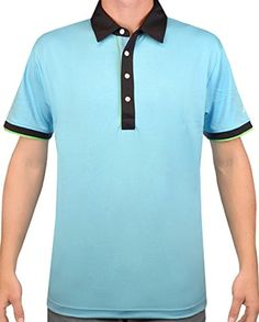 Sligo Brazen Polo Previous Season Belize Large - mens golf shirt -- Awesome products selected by Anna Churchill