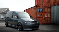 VW Caddy with Bentley rims!