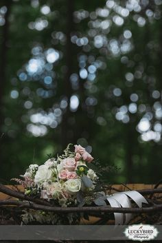 Angel 101 wedding bouquet - Photos by Luckybird Photography