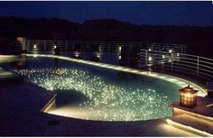 Fiberstars Star Floor Kit Light Streams  -Add a beautiful starry night effect to the bottom of your pool