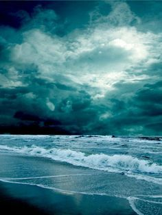 storm at beach - Google Search