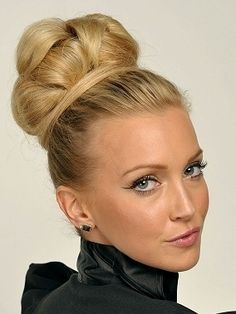 Image detail for -Big Bun Up-dos for that glamorous look in the summer | My Hair Style