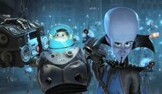 Megamind: Our new favourite film.  Boo's new hero.