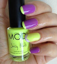 Neon Pop Summer Nails