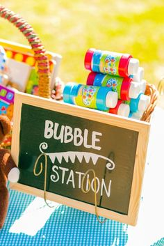Teddy Bear Picnic in the Park themed birthday party via Kara's Party Ideas | KarasPartyIdeas.com (30)