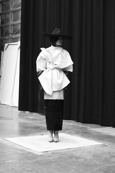 <p>In awe of Satu Maraanen's artful collection, awarded the Grand prix at this year's Hyeres Festival and recently shown in Paris at Premiére Vision. True to her Finnish roots, Satu values craftsmansh