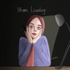 İslamic anime ve tesettür - Healty fitness home cleaning Girl Hair Drawing, Hijab Drawing, Girly Drawings, Cartoon Drawings, Alone Art, Anime Muslim, Hijab Cartoon, Art Antique, Cute Wallpaper Backgrounds