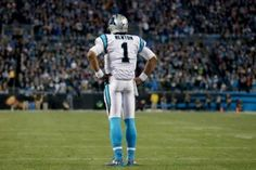 For leading the Carolina Panthers to a record and a Super Bowl appearance, Cam Newton was awarded the NFL MVP American Football, Nfl Football, Coach Of The Year, Cam Newton, Nfl Photos, Carolina Panthers, Print Pictures, Poster Prints