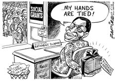 My hands are tied - Zapiro News South Africa, Jacob Zuma, Political Cartoons, Handmade Rugs, Politics, African, Hands, Shit Happens, History