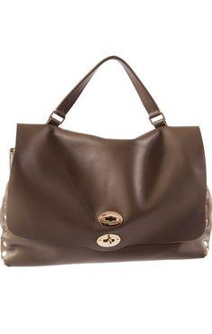Shoulder Bag for Women On Sale, Cornflower Blue, Leather, 2017, one size Zanellato