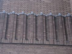 Bankside Power Station brick work.
