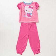 Toddler Girls Hello Kitty Pajamas - Sleepover Party: Girls' Sleepwear - Events Girls Sleepwear, My Friend, Friends, Sleepover Party, Toddler Girls, Cake Ideas, Hello Kitty, Kids Fashion, Freedom