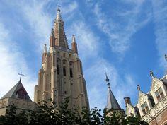Igreja Nossa Senhora em Bruges, Bélgica. Foto: NiKi Verdot | 1001 Dicas de Viagem