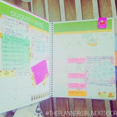 Day 11: My monthly view is all about expenses and back to school to do's