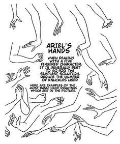 Ariel's Hands - Glen Keane