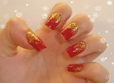 Crissie's Mind: Getting Ready For Christmas #4: Red and Gold