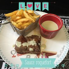 Sauce au roquefort - My Homemade Cook Dit, Chocolate Fondue, Sauces, Restaurant, Homemade, Desserts, Food, Cooking, Meat