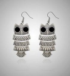 Shipping: FREE to Worldwide Satisfaction: 45 Days Money Back Guarantee Safe for you: SSL Encripted Checkout Owl Earrings, Crochet Earrings, Owl Jewelry, Bohemian, Free Shipping, Store, Beauty, Fashion, Moda
