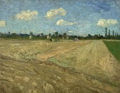 Till the 22nd of June the exhibition 'Van Gogh, Gauguin, Bernard. Dramaet i Arles' is on view at @Ordrupgaard, including a few works from our collection, like 'Ploughed fields (`The furrows')'.  More info (in Danish): http://ordrupgaard.dk/portfolio_page/udstillingens-tema/