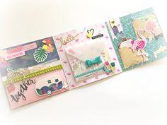 true colors scrapbook Photo Album Scrapbooking, Mini Scrapbook Albums, Scrapbook Cards, Mini Albums, Envelope Scrapbook, Pen Pal Letters, Diy Letters, Paper Crafts Origami, Scrapbook Paper Crafts