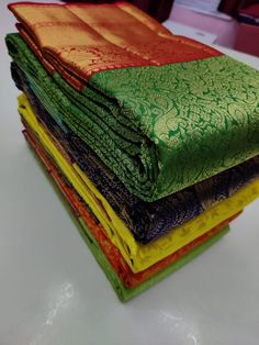 Ping me in 9171814428 for price details.. Pure kanchipuram silk sarees handwoven with 2 g pure jari exclusive bridal collection Pure Silk Sarees, Bridal Collection, Hand Weaving, Pure Products, Tableware, Hand Knitting, Dinnerware, Tablewares, Dishes