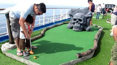 Hasil gambar untuk put put golf Fun Summer Activities, Outdoor Activities For Kids, Holiday Activities, Marketing Plan Example, Crazy Golf, Golf Day, Miniature Golf, Best Games, Cool Places To Visit