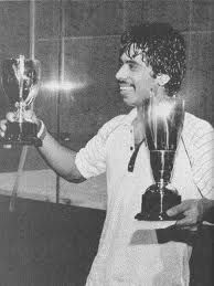 Jahangir Khan is a former World No. 1 professional squash player from Pakistan, who is considered by many to be the greatest player in the history of the game.