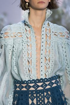 Zimmermann at New York Fashion Week Spring 2019 - Details Runway Photos