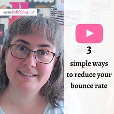 New on the Tube! LINK IN BIO  I'm going to share with you 👉 the 3 SIMPLEST ways to reduce your website's bounce rate, which is one of the reasons why Google isn't sharing your content and products much more widely.  See you over there, Sara x  --- #youtuber #youtubechannel #youtubevideos #bouncerate #google #seo #websitedesign #marketing #marketingstrategy #marketingtips Small Business Marketing, Content Marketing, Online Marketing, Digital Marketing, Bounce Rate, Small Business Resources, Seo Tips, Craft Business, Sell On Etsy