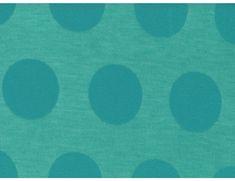 Knit Dot Burnout Turquoise