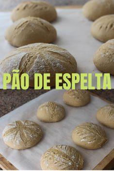 Pão de espelta caseiro Bread Recipes, Vegetarian Recipes, Cooking Recipes, Healthy Recipes, Good Food, Yummy Food, Breakfast Snacks, Portuguese Recipes, Healthy Baking