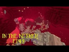 Minecraft - Lets build in the nether! ep49: Road building - YouTube