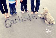 The Carlisle Family's Pure + Dreamy Beach Session – York Maine » blog.monpetitstudio.com
