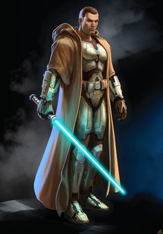 star wars art | VE3D Image for Star Wars: The Old Republic (PC) - Character Class ... Jedi Armor, Jedi Sith, Star Wars Saga, Star Wars Jedi, Mara Jade, Star Wars Collection, Cosplay Star Wars, Star Wars Costumes, Space Knight