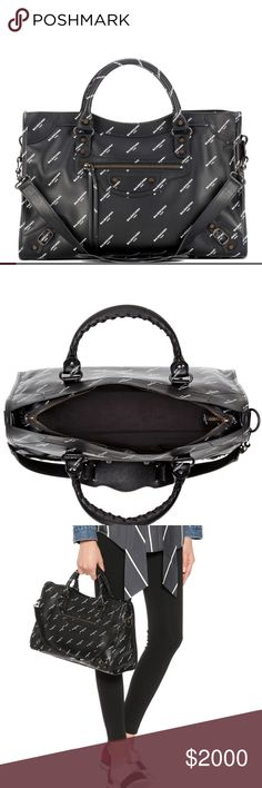 3b21b1f1c379 Balenciaga bag Balenciaga graffiti bag. Comes with dust bag and long  strapnyo wear as a