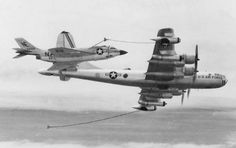 Excellent shot of a FH3D Demon refuelling from a KB-50.