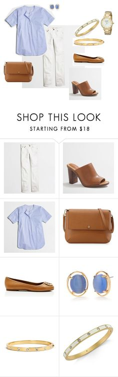 """""""Spring"""" by mermigaseleni on Polyvore featuring J.Crew, Tory Burch and Kate Spade"""