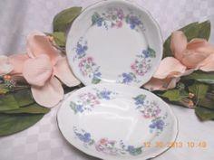 Walbrzych, Southington China Dinnerware Garland set 2 salad plate