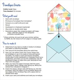 Exceptional Sample Envelope Template Sample Envelope Liner Template   Free Documents In  PDF , Word