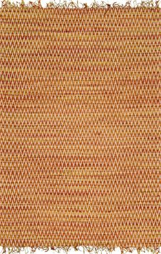 Gerald Handwoven Area Rug in Sunset - Hand-woven in India of hand-spun jute and cotton, the area rug has a gorgeous chevron pattern against a series of earthy striated colors. Chevron Rugs, Area Rugs For Sale, Natural Area Rugs, Hard Floor, Jute Rug, Jacquard Weave, Hand Spinning, Cotton Canvas, Hand Weaving