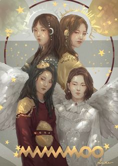 """ruiwen-art: """"My entry for 2017MAMA fanart contest ~~ I will really appreciate likes on ig and twitter :) """""""