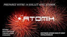 Préparez votre 14 Juillet  avec ATOMIK https://atomik.fr/petards-puissants-fumigenes.shtml N'oubliez que la vente d'artifices est souvent interdite avant le 14 juillet, Alors Anticipez.
