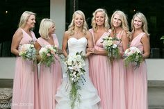 Bride and Bridesmaids Weddings South Africa Brides And Bridesmaids, Bridesmaid Dresses, Farm Wedding, South Africa, Wedding Styles, Wedding Photography, Weddings, Ruffles Bridesmaid Dresses, Wedding Shot