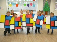 Kandinsky, Mondrian Art Projects, Classe D'art, Costume Carnaval, Visual Literacy, Saint Joseph, Academic Art, Ecole Art, Piet Mondrian